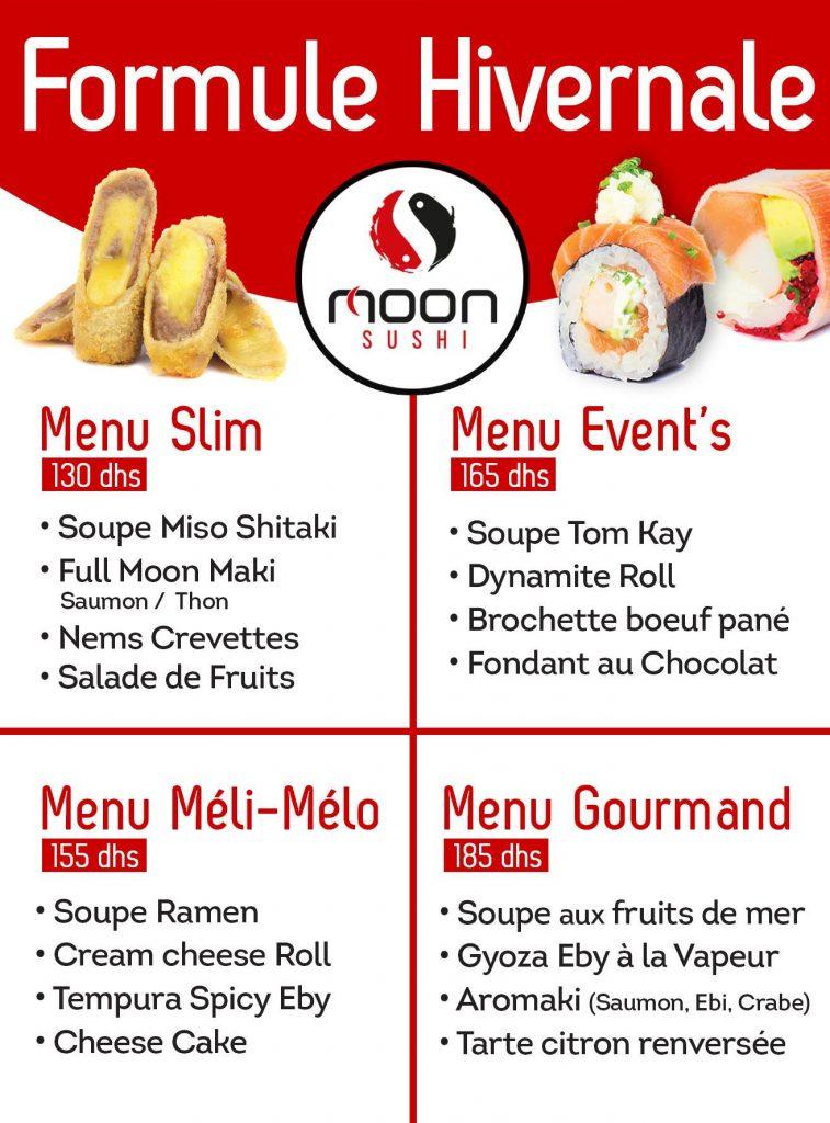 Moon sushi maroc