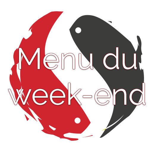 Menu du weekend 03/11